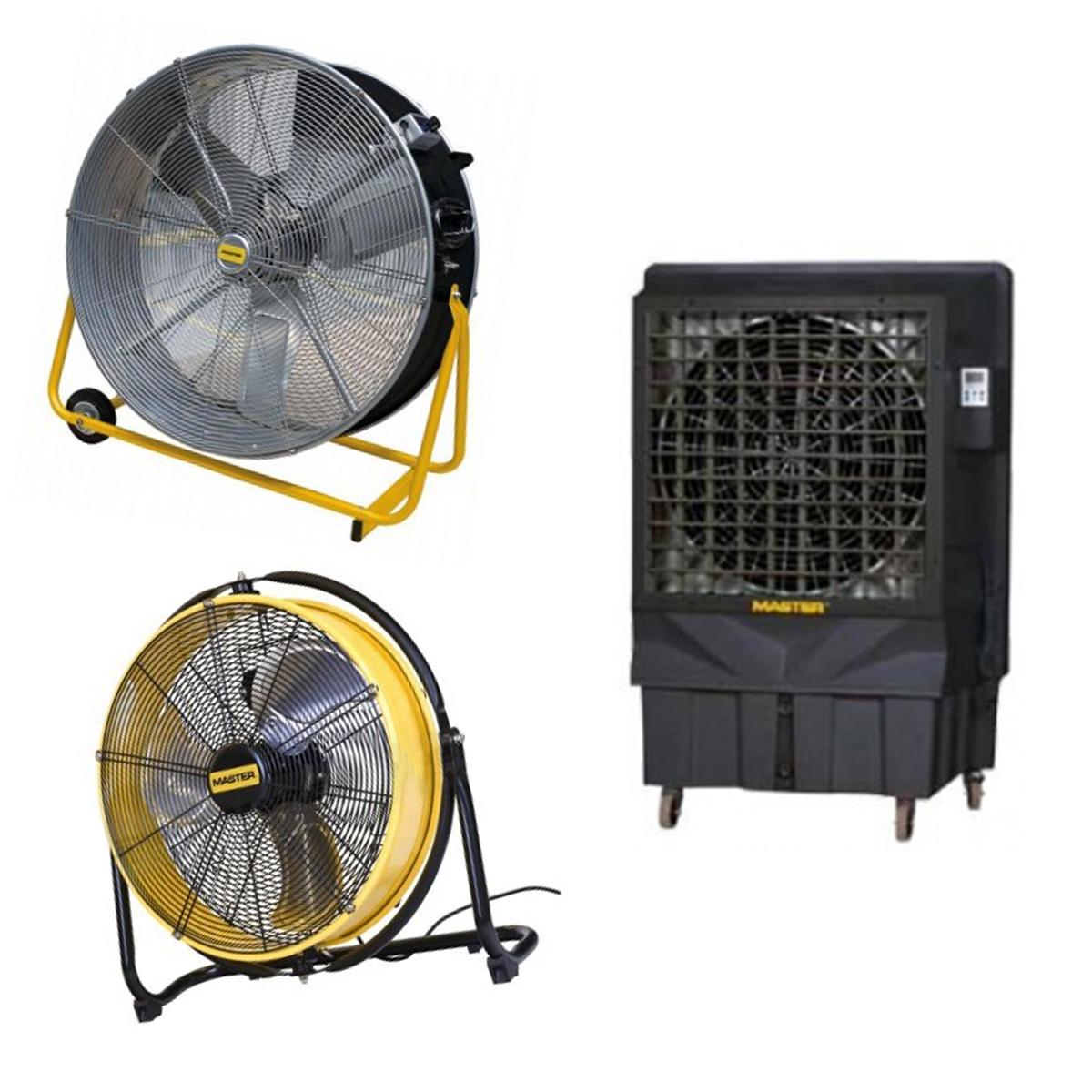 Ipari ventilátor / Léghűtő