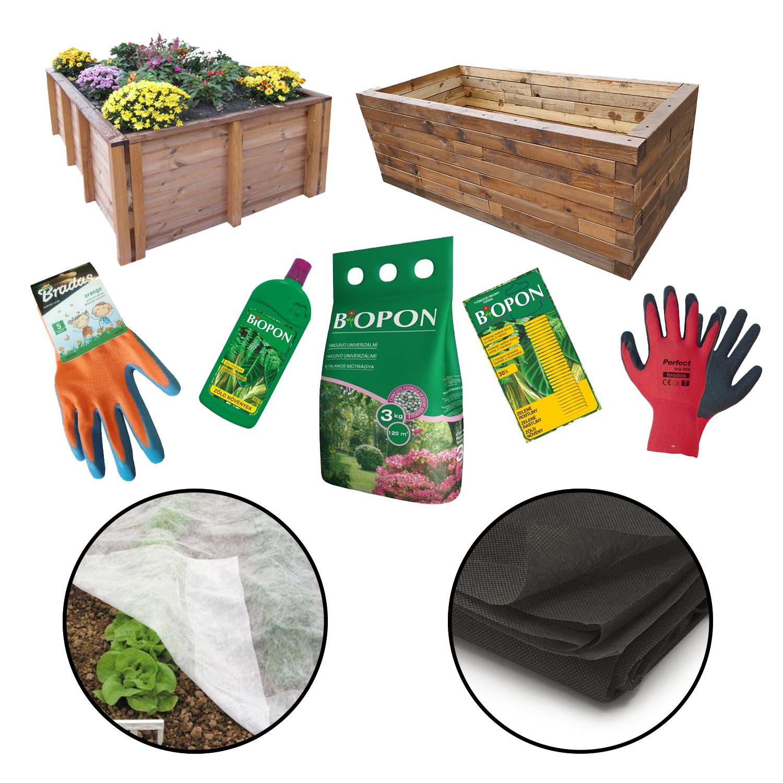 Magaságyások, ültetéshez szükséges eszközök