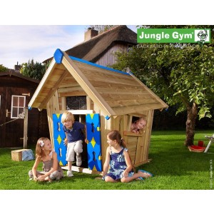 Kerti játszótér - Jungle Gym Crazy Playhouse játszóház