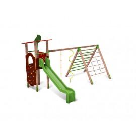 Közterületi játszótér - Torony mászókával COMBO