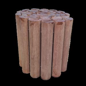 Ágyásszegély - Trópusi keményfából 30x180 cm