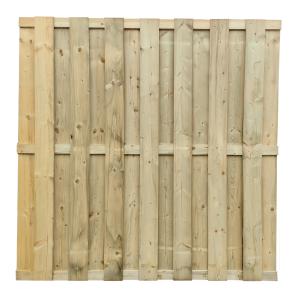 Kerítés - Multi Delux 13 mm lamellával 180 x 180 cm