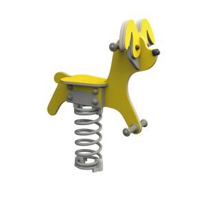 Rugós játék 'fairytale' kutya (betonozható)