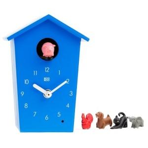 KooKoo Falióra - Állatházas óra - Kék