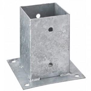 Oszloptartó - Kehely, lecsavarozható 9 x 9 cm
