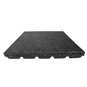 Gumilap esésvédő ReFlex - 6x50x50 cm fekete