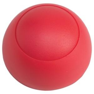 Csavartakaró - gomb 38x18 piros Hapro
