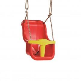 KBT LUXE hinta, átalakítható, két részes, 2,5m PP kötéllel piros/sárga