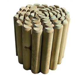 Ágyásszegély - Fenyőből 40x250 cm