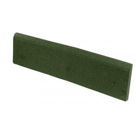 Gumilap szegély ReFlex - 4 cm vastag 100x25 cm, zöld