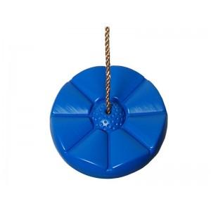 Hinta - műanyag tányérhinta kék