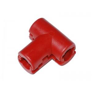 Kötélzáró - T átmenő piros