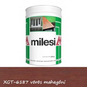Milesi vékonylazúr - vörös mahagóni 1 l