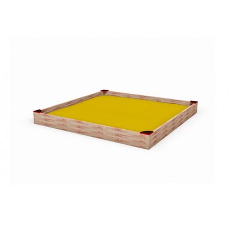 Közterületi játszótér - Homokozó 300x300 cm