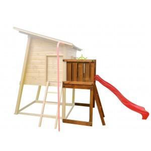 Kerti játszótér - mYnest - csúszdás balkon modul - lakossági