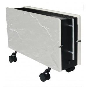 Elektromos kerámia hőtárolós fűtőpanel - Climastar Optimus fehér pala 1600 W