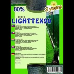 Árnyékoló háló - LIGHTTEX90 2 x 10 m 80%
