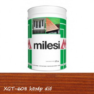 Milesi vékonylazúr - közép dió 5 l