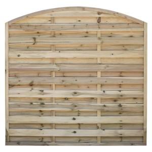 Kerítés - San Remo íves 180 x 180 cm