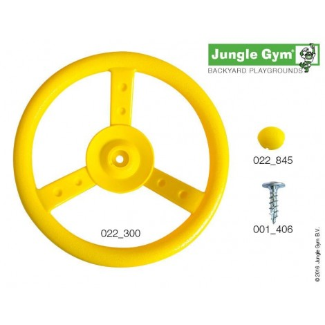 Kormánykerék - Jungle Gym Steering Wheel