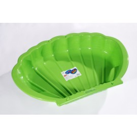 Homokozó kagyló zöld