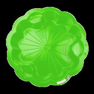 Homokozó - Virág zöld XL
