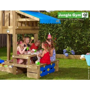 Kerti játszótér - Jungle Gym Mini Picnic modul 120