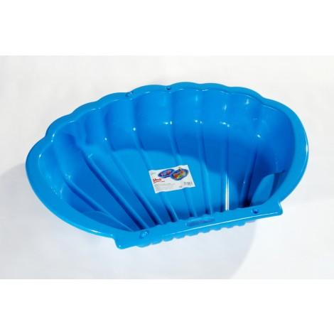 Homokozó kagyló kék