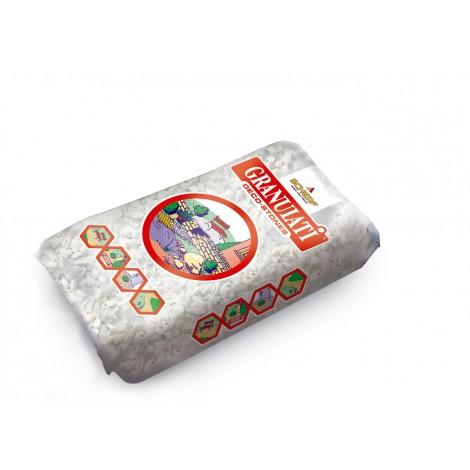 Díszkavics márványzúzalék, carrarai fehér, 9-12 mm, (25 kg/zsák)
