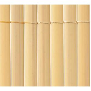 Plasticane Ovális - Belátásgátló műanyag nád 1x3m (bambusz szín)