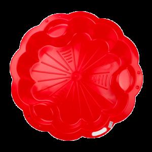 Homokozó - Virág piros XL