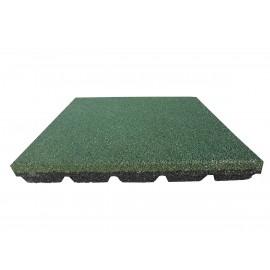 Gumilap esésvédő Reflex - 6x100x100 cm zöld