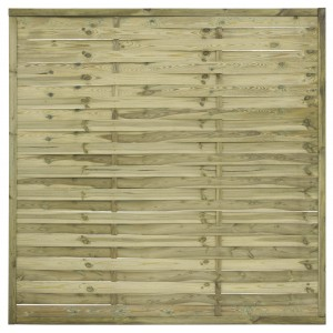 Kerítés - Lamellás 180 x 180 cm