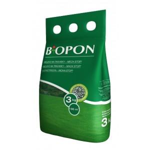 Biopon növénytáp gyep mohás granulátum 3kg