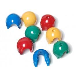 Kötélcsomópont - Gömb 2 db-s kék