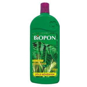 Biopon tápoldat zöld növények 1L