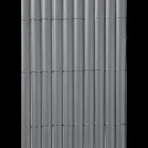 Plasticane Ovális - Belátásgátló műanyag nád 1x3m (szürke)