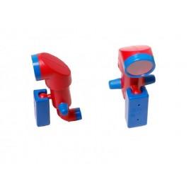Periszkóp - Lux piros/kék