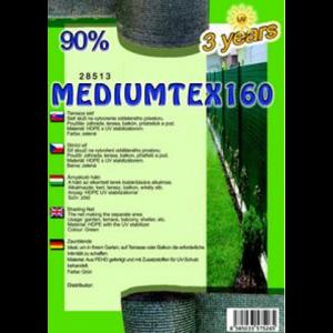 Árnyékoló háló - MEDIUMTEX160 1,5 x 50 m 90%