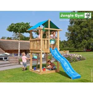 Kerti játszótér - Jungle Gym Hut játszótorony