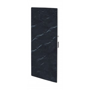 Elektromos kerámia hőtárolós fűtőpanel - Climastar Smart Touch álló fekete pala 1000 W