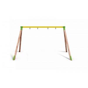 Közterületi játszótér - Kétállású hintaállvány (ülőke nélkül)