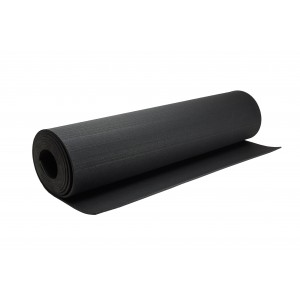 ReFlex fitness gumilemez, 1 x 5 m tekercs, fekete 10 mm