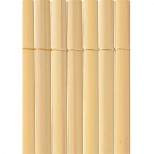 Plasticane - Belátásgátló félovális műanyag nád 1,5x3m (bambusz szín)