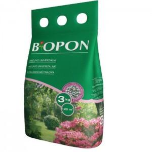 Biopon növénytáp univerzális granulátum 3kg