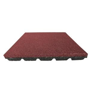 Gumilap esésvédő Reflex - 6x100x100 cm vörös