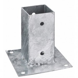 Oszloptartó - Kehely, lecsavarozható 7 x 7 cm
