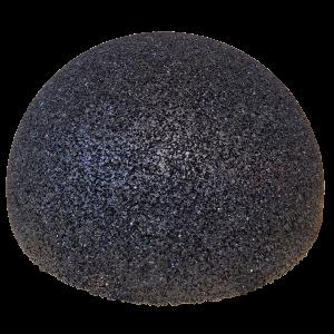 Gumi félgömb - egyensúlyozó és díszítőelem natúr