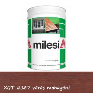 Milesi vékonylazúr - vörös mahagóni 5 l