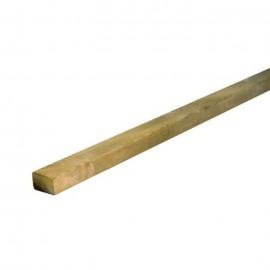 Léc - impregnált, gyalult, fózolt fenyő 4,5 x 6,8 x 360 cm